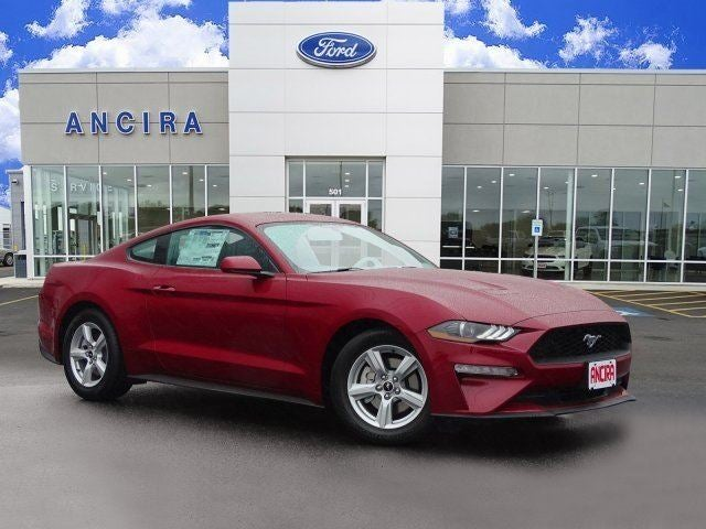 2018 Ford Mustang Ecoboost Ruby Red For San Antonio Alamo Heights Boerne Tx 1fa6p8th1j5108207 Ancira Auto Group