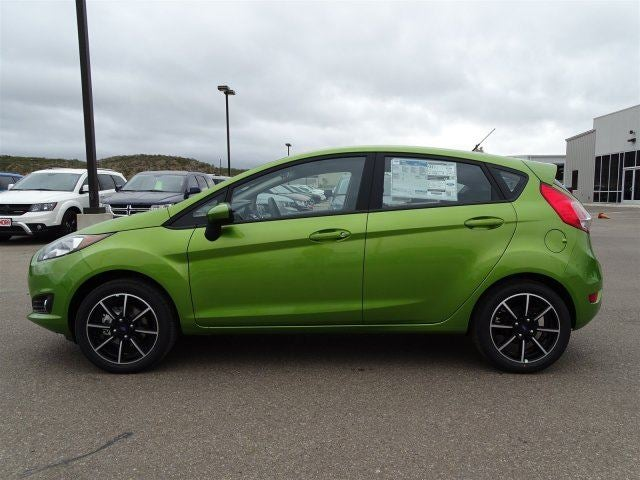 2018 Ford Fiesta Se Outrageous Green For Sale San Antonio