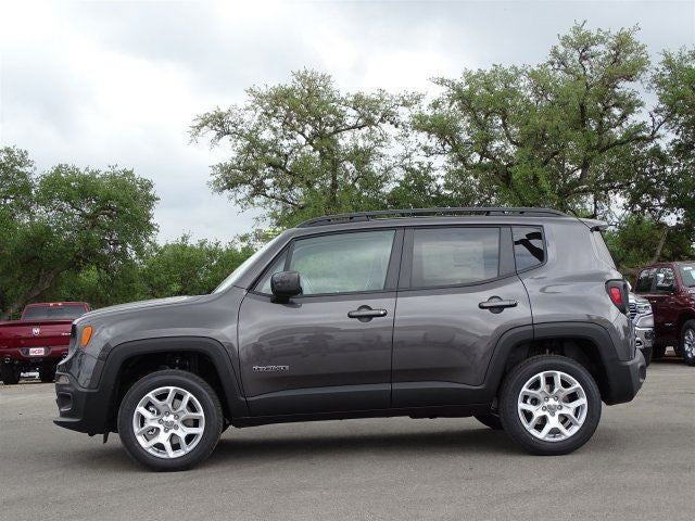 2018 Jeep Renegade Latitude Granite Crystal Metallic Clear-Coat Exterior Paint For Sale San ...