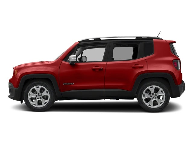 2018 Jeep Renegade Limited Colorado Red Exterior Paint For