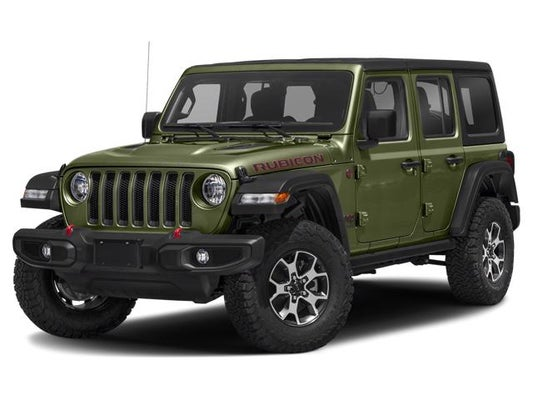 2020 Jeep Wrangler Unlimited Rubicon Sarge Green Clear Coat
