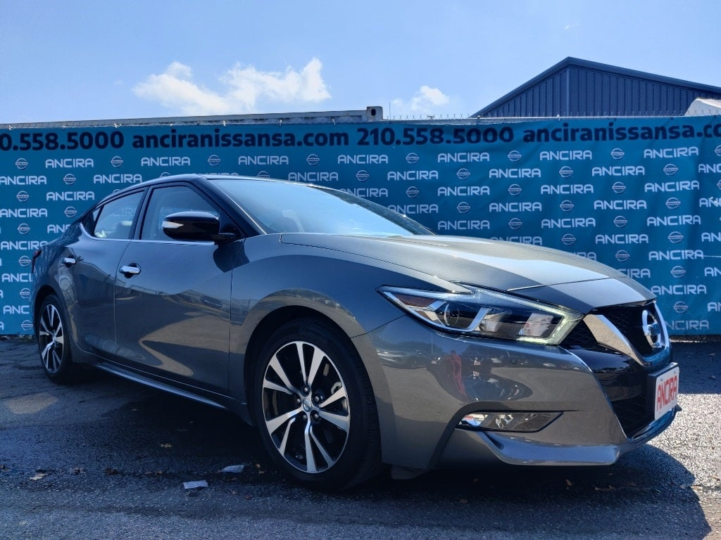 Nissan Dealership San Antonio >> 2018 Nissan Maxima SV Gun Metallic For Sale San Antonio, Selma, Alamo Heights, Boerne ...